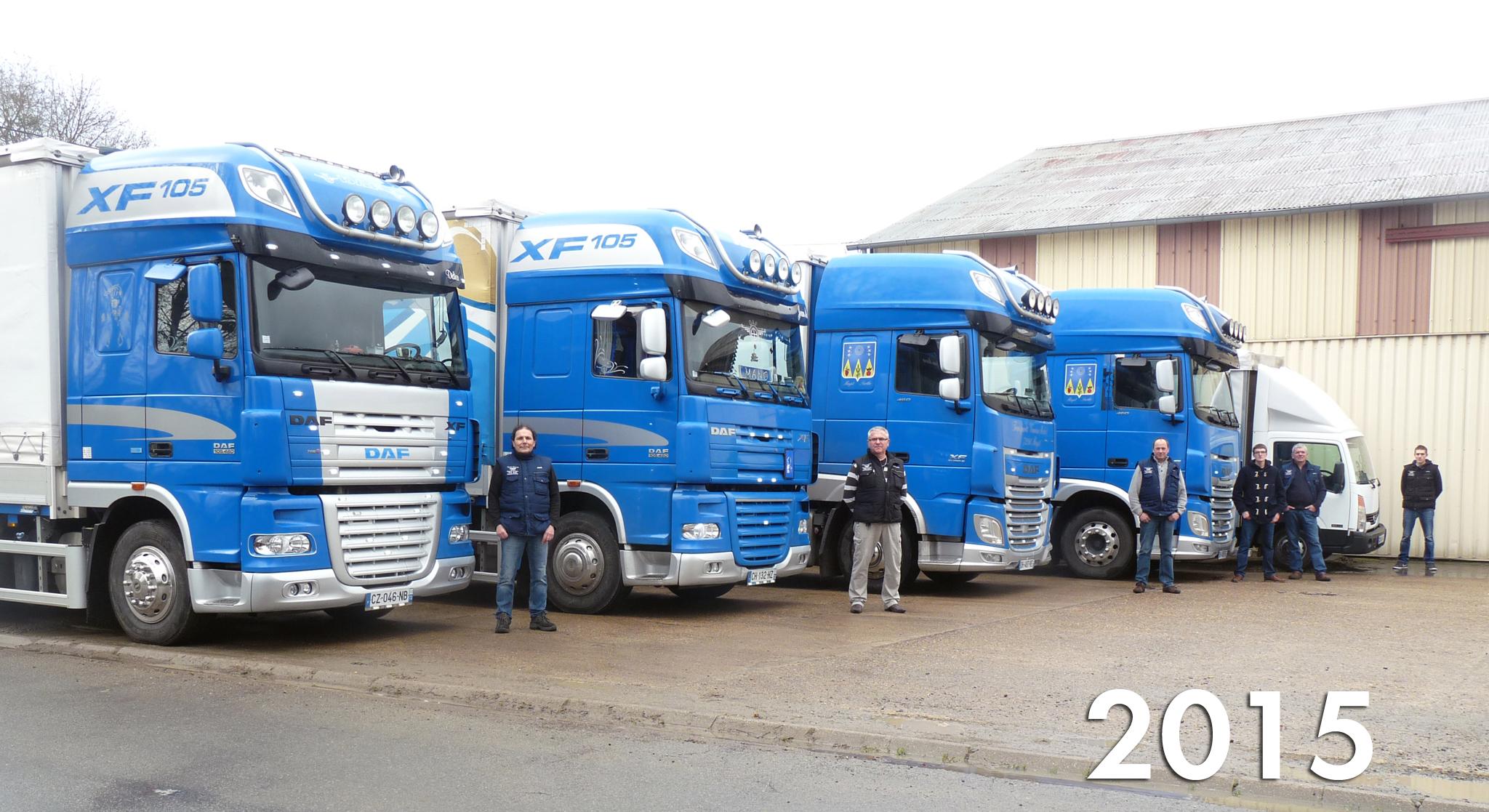 Camions-remorques Région parisienne vers Sarthe