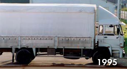 DAF 2100 de 1995 Transports Vannier