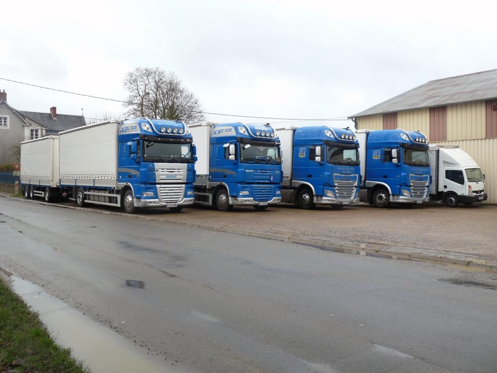 flotte de véhicules Transports Vannier