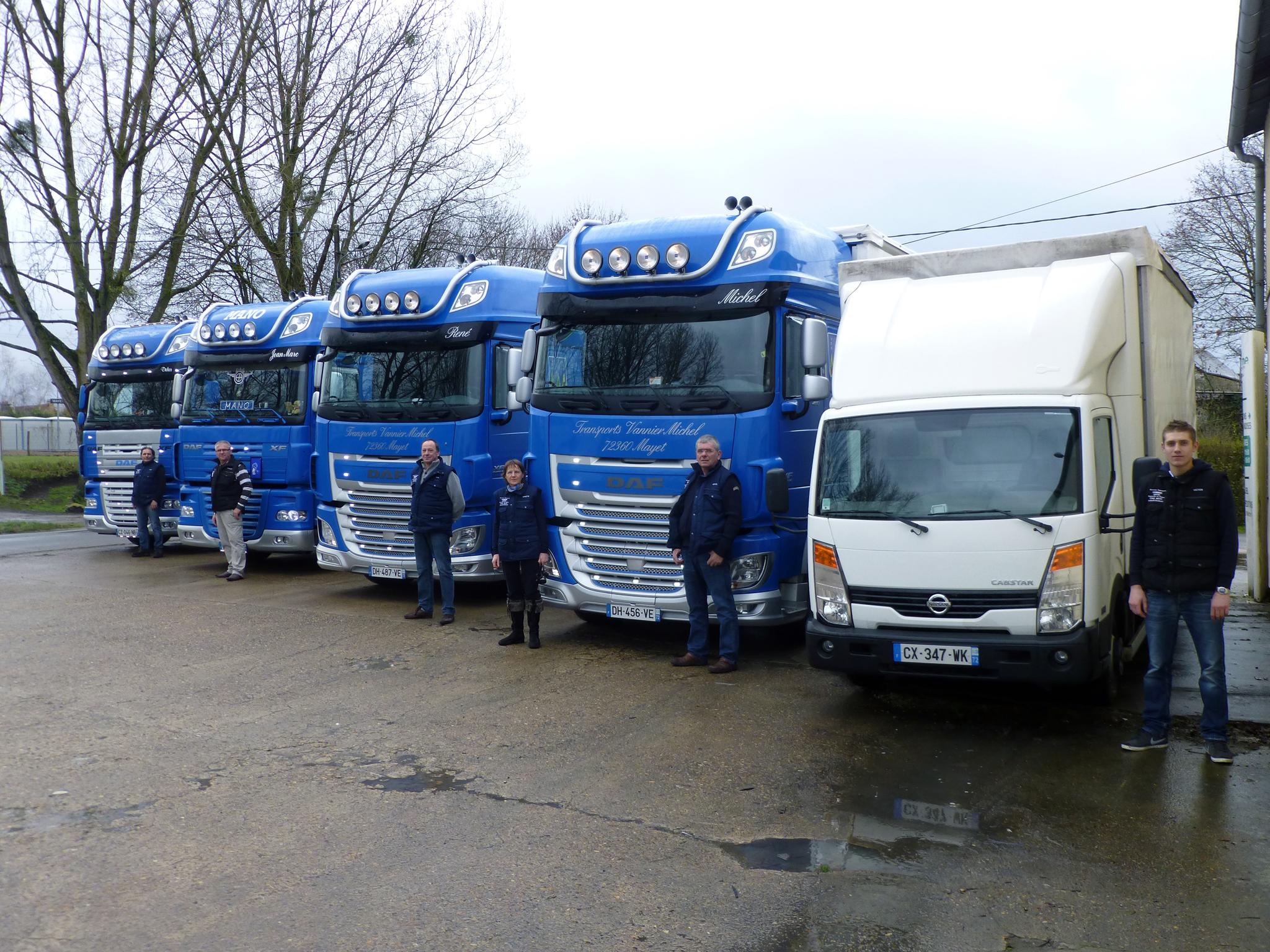 Parc et personnel, transporteur 72 (Sarthe) - Vannier