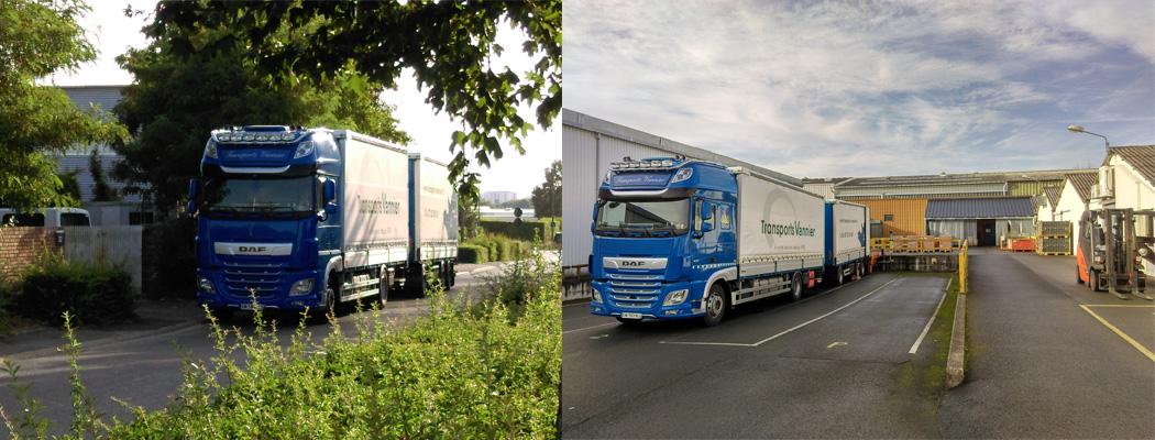 Transport routier de marchandises entre la Sarthe et l'Île de France
